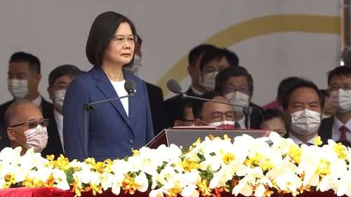 Nobody can force Taiwan into submission: President Tsai amid Chinese pressure