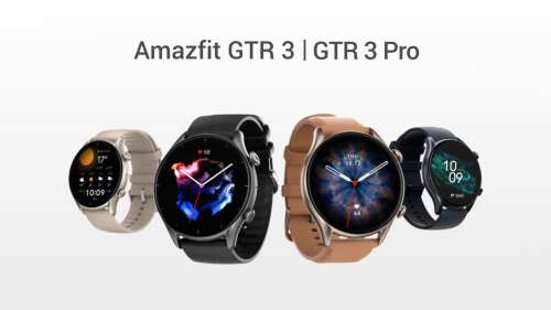 Amazfit GTR 3, GTS 3, GTR 3 Pro smartwatches launched in India: check price, specs
