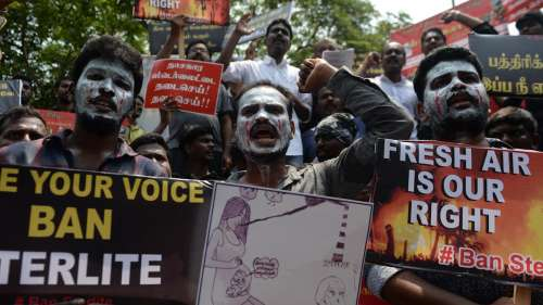 Firing on Sterlite protestors a scar on democracy: Madras HC