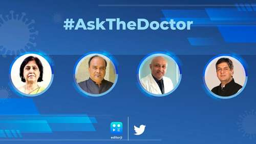 Ask The Doctor   India's top experts answer all your Covid-related FAQs