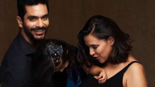 Neha Dhupia & Angad Bedi announce second pregnancy: 'New Home production coming soon'