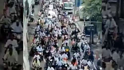 'Covid still there': Row after Maha minister tweets video of crowd welcoming him