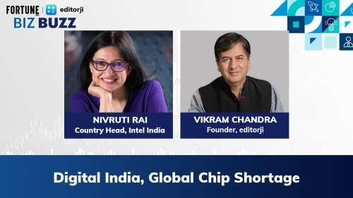 On Biz Buzz | Intel on the global chip shortage & India's need to digitally 'Atmanirbhar'