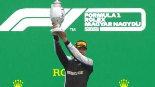 Formula 1: Esteban Ocon registers surprise maiden win at Hungarian Grand Prix