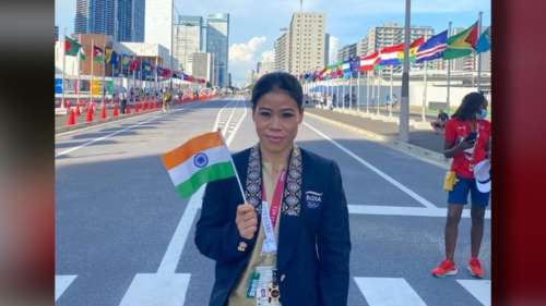Mary Kom : দাপুটে জয় দিয়ে শুরু অলিম্পিক, প্রি-কোয়ার্টারে মেরি কম