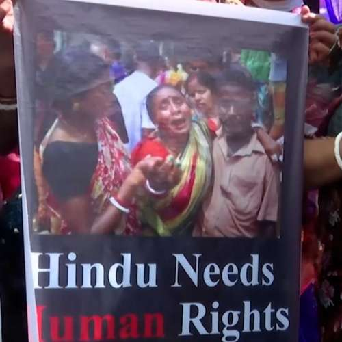 'Gravely troubled': US rights body on attacks on Hindus in Bangladesh