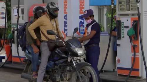 'Saving money for welfare schemes': Pradhan defends high fuel price