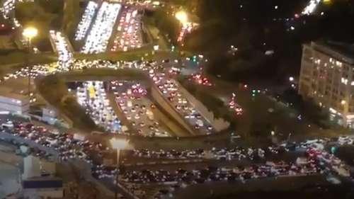 700-km-long jam as Paris residents flee lockdown