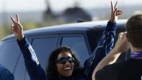 Dream come true: Sirisha Bandla on her journey to the edge of space