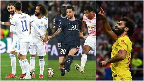 Champions League: Man City, Real Madrid hammer 5 goals each, Messi gets a brace for PSG