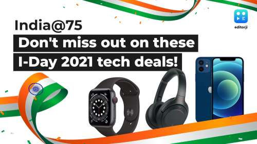 India@75: Don't miss out on these Independence Day 2021 tech deals from Amazon, Flipkart