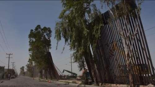 ट्रंप की 'सबसे मजबूत' दीवार तेज हवा से ही गिर गई