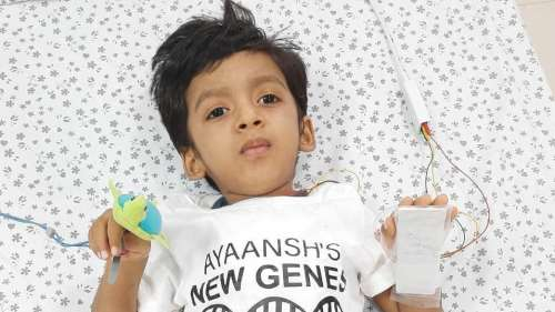 Hyderabad boy gets world's costliest injection by crowd-funding
