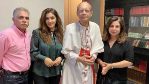 Raveena, Farah apologise to the Cardinal after TV show offends many
