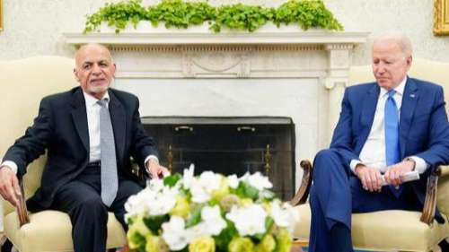 US के राष्ट्रपति जो बाइडेन ने अशरफ गनी को दिया मदद का आश्वासन, अफगानी रिफ्यूजियों के लिए जारी किया फंड