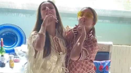 Hips don't lie! Sisters Malaika & Amrita Arora flaunt their sassy moves in a viral video