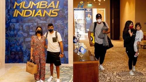 IPL 2021: Rohit Sharma, Bumrah and Suryakumar Yadav arrive in UAE