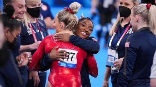 Simone Biles to not defend gymnastics title, withdraws from all-around competition