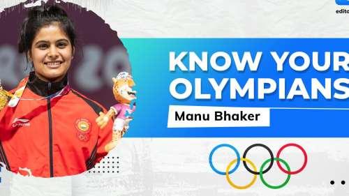 Manu Bhaker eyeing gold