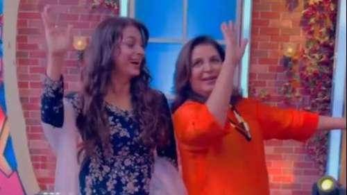 Farah Khan और Juhi Chawla ने मिलाई ताल से ताल, शेयर किया वीडियो