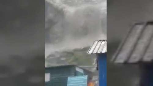 Amarnath: अमरनाथ गुफा के पास फटा बादल, सामने आया भयावह वीडियो