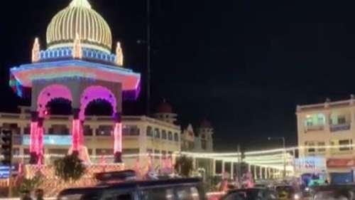 Mysuru city lights up on the occasion of Dasara