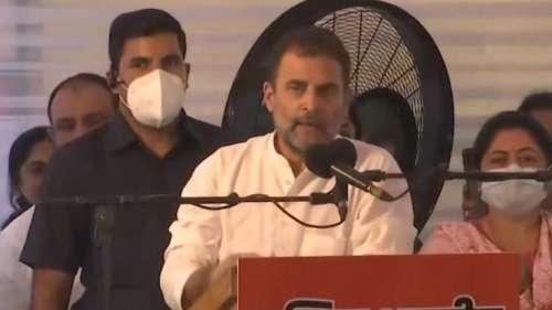 BJP-RSS पर राहुल गांधी का हमला, कहा- 'ये झूठे हिन्दू हैं, ये सिर्फ धर्म की दलाली करते हैं'