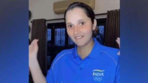Tokyo Olympics: अपनी ओलंपिक टी शर्ट में Sania Mirza ने किया डांस, खूब वायरल हो रहा वीडियो