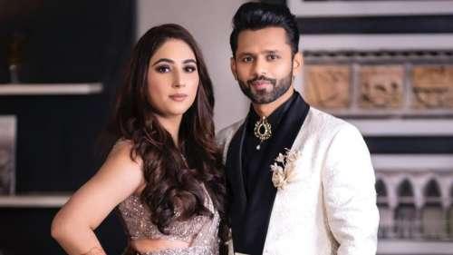 Watch!Rahul Vaidya-Disha Parmar perform on their wedding reception