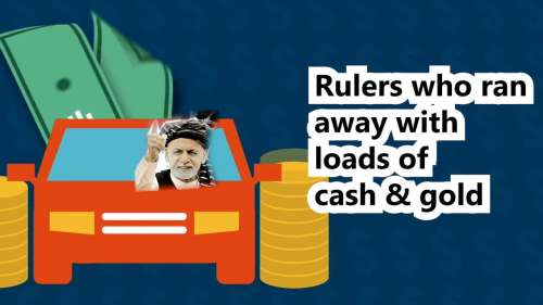 Rulers who ran away with loads of cash & gold