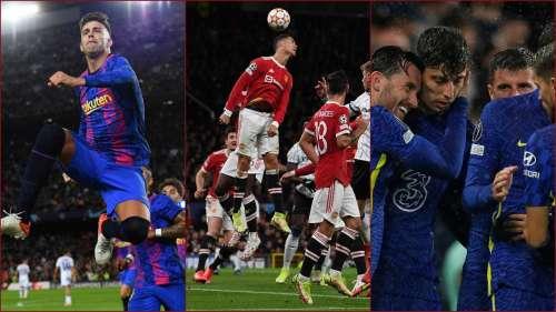 Champions League: Ronaldo saves scrappy Man United again, Chelsea win big