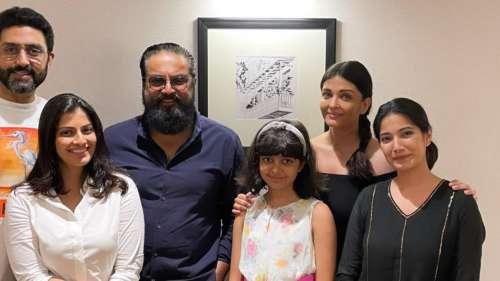 Ponniyin Selvan: ऐश्वर्या ने फिल्म के को स्टार के साथ बिताया वक़्त, अभिषेक-आराध्या भी आए नजर