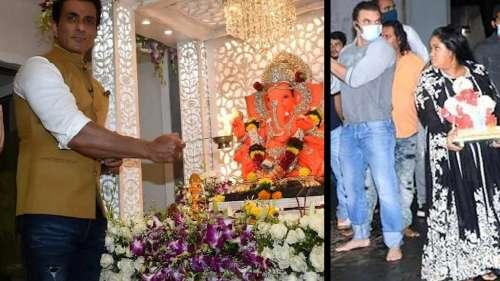 Ganesh Chaturthi: গণেশ বিদায়ে বলিউড সেলিব্রিটিদের বিভিন্ন ছবি ভাইরাল নেটদুনিয়ায়