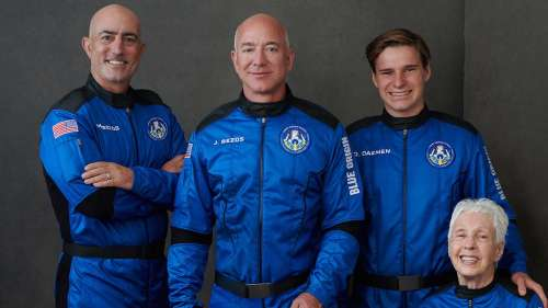 After space trip, Jeff Bezos announces $100 million 'Courage and Civility' award