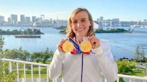 Tokyo Olympics 2020: Katie Ledecky becomes first female swimmer to win 6 individual gold medals