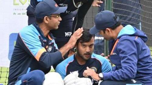 India vs England: Mayank Agarwal ruled out of the 1st Test with a concussion