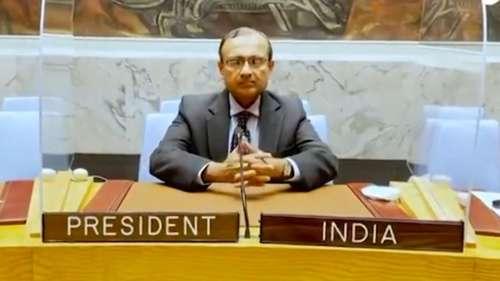 UNSC की अध्यक्षता