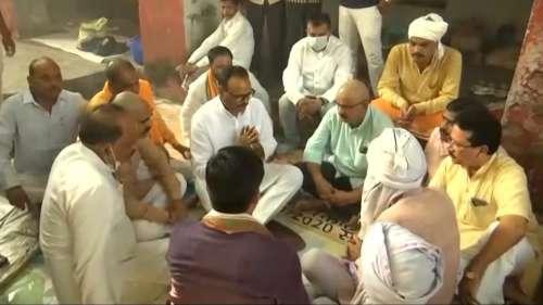 BJP leader visits Lakhimpur