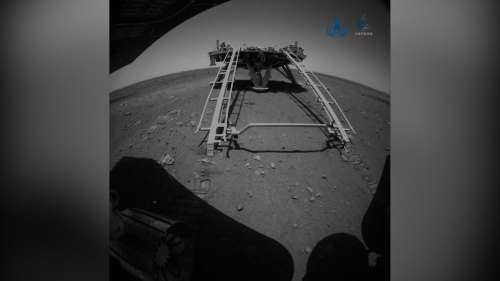 China: Mars rover Zhurong takes first drive on surface of Red Planet