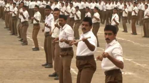 Haryana govt lifts decades old ban on govt staff attending RSS activities