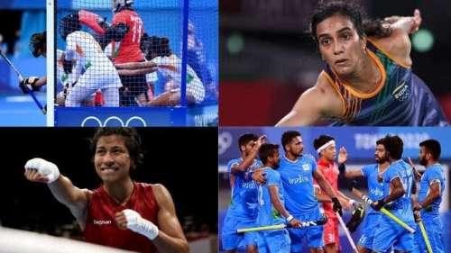 Tokyo Olympics Day 8: भारत का बॉक्सिंग में मेडल पक्का, सेमीफाइनल में पहुंचीं सिंधु तो हॉकी में हैट्रिक