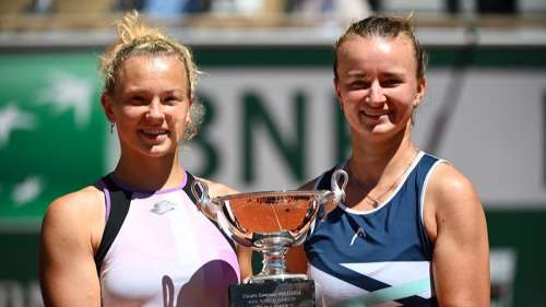 A record first in 21 years! Krejcikovaseals 2 titles at French Open