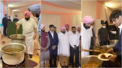 Captain Cook! Chef Amarinder delights India's Olympic heroes with food