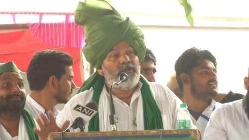 'Sarkari Taliban': BKU's Rakesh Tikait slams BJP after police lathi charge farmers
