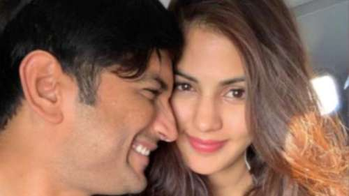 Rhea Chakraborty remembers Sushant, says 'no life without you'