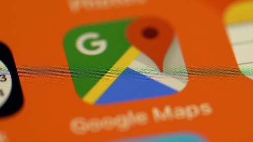 Google Maps का डार्क मोड