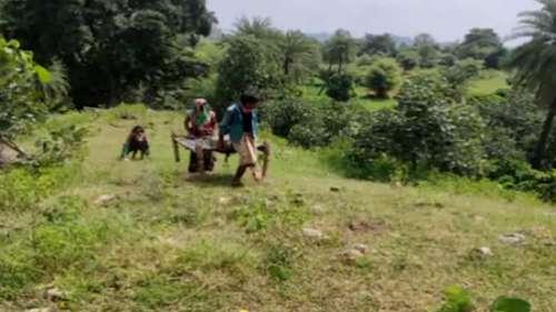 Digital India: नेटवर्क न होने पर बुजुर्ग को 3Km पहाड़ पर चढ़ाए परिजन, तब मिली 750 रुपए की पेंशन