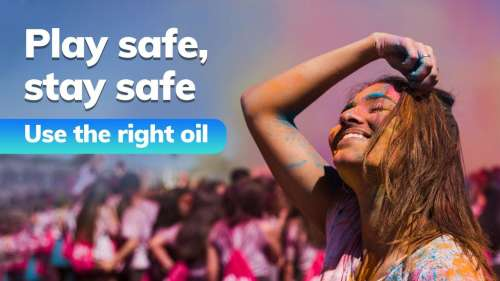 Play safe, stay safe: use the right oil for Holi