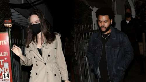 Angelina Jolie& The Weeknd dating rumors intensify after duo attendsa private concert