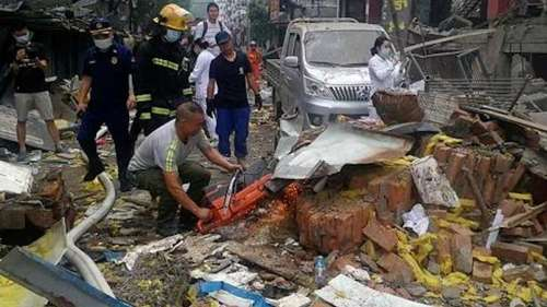 11 killed, 37 injured in a huge gas explosion in China